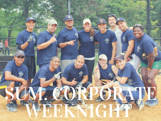 Summer – Corporate Weeknight League