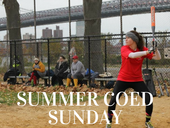 Summer – Sunday Coed League