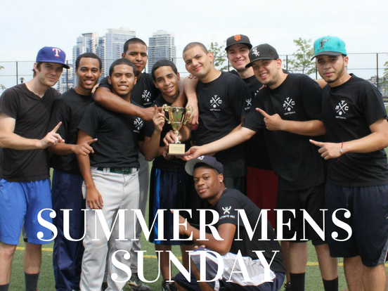 Summer – Sunday Men's League