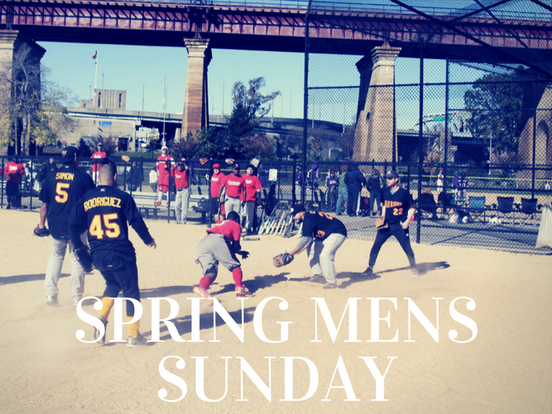 Spring – Sunday Men's League