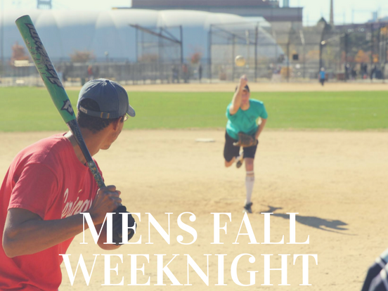 Fall – Weeknight Men's Weeknight League